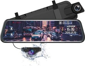 AZDome PG02 2CH Full Mirror GPS Touch-klein