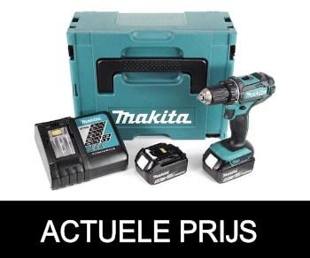 Makita DHP482RTJ Accu klopboormachine - 18V