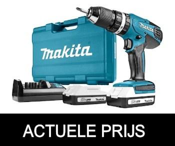 Makita HP457DWE accuboormachine