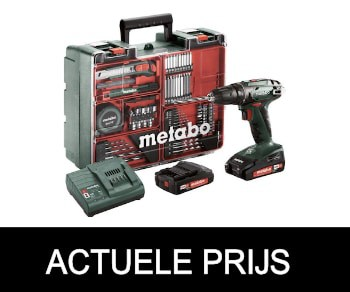 Metabo BS 18 Accuboormachine