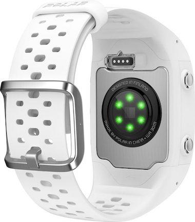 Polar M430 sensoren hartslagmeting